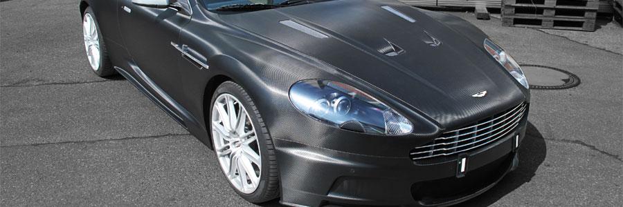 Aston Martin DBS Carbon schwarz