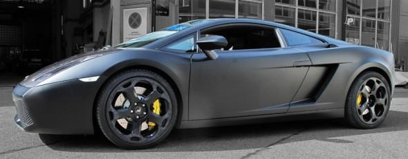 Lamborghini Gallardo schwarzmatt