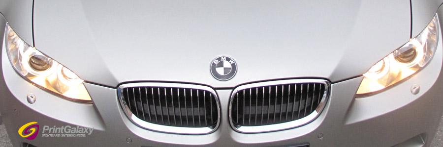 BMW 3er Cabrio mit champagner matt metallic Folie