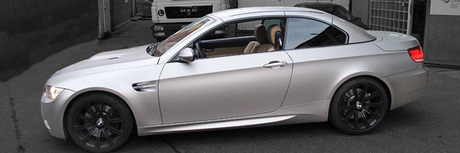 BMW 3er silber matt