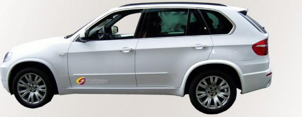 BMW X5 weiß glänzend