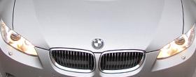 BMW 3er Folierung silber matt