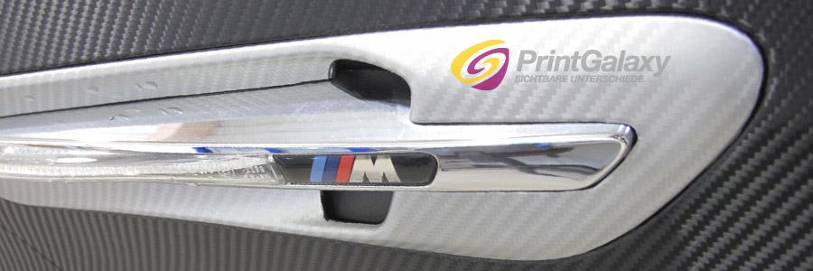 Lufteinläße und Schlitze können ebenfalls beschichtet werden.