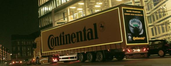 LKW Markierungsstreifen machen LKWs besser sichtbar