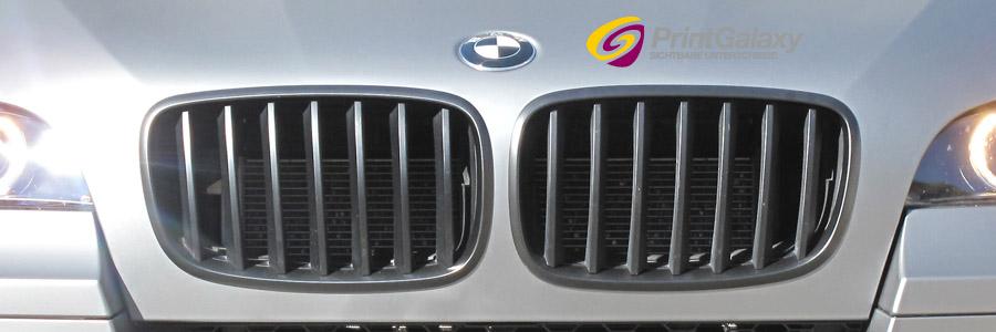BMW X6 M mit graphite matter Folie foliert.